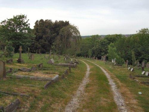 Commonwealth War Graves Brighton Borough Cemetery
