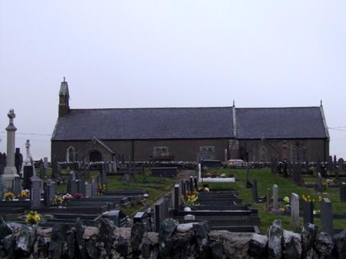 Commonwealth War Graves Newborough Church Burial Ground