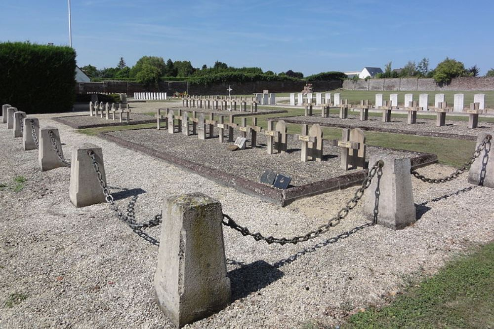 Franse Oorlogsgraven Ribemont