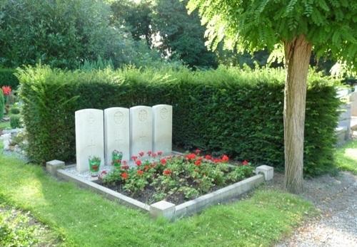 Oorlogsgraven van het Gemenebest Rozenburg
