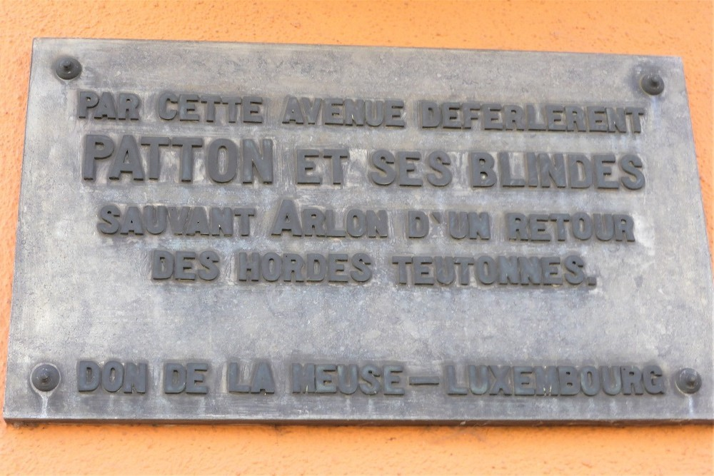 Plaquette Generaal Patton