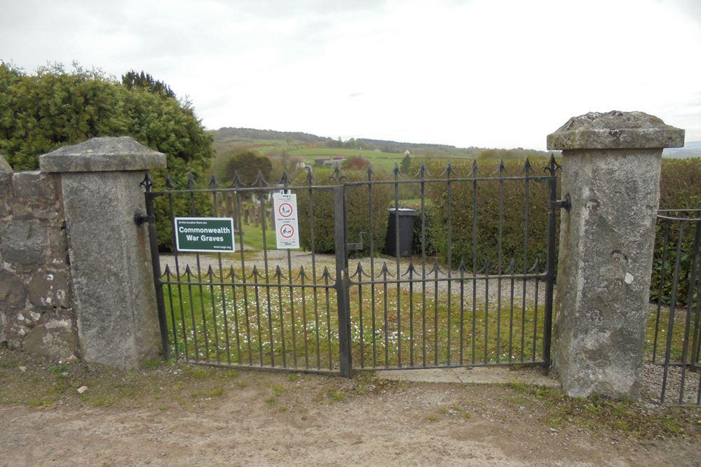 Commonwealth War Graves Auchencairn Cemetery