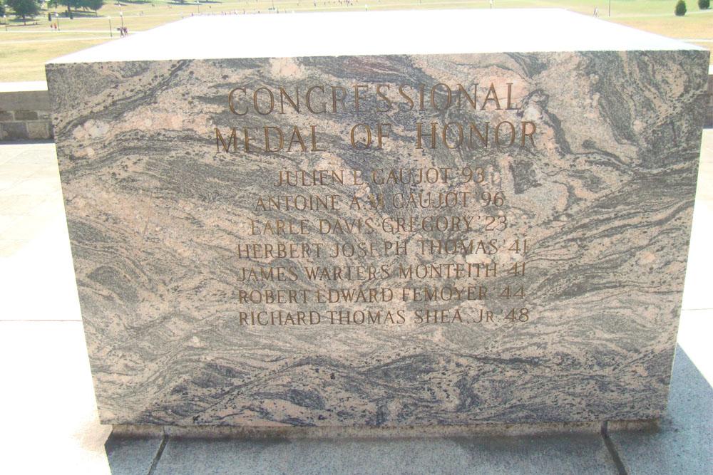 Medal of Honor Memorial Virginia Tech
