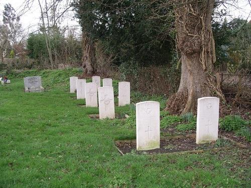 Commonwealth War Graves St Mary Churchyard