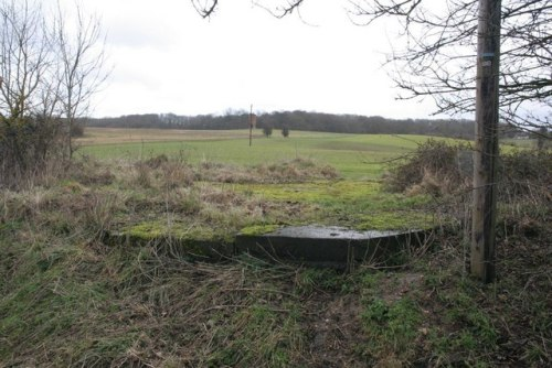 Onvoltooide Bunker FW3/28 Theale