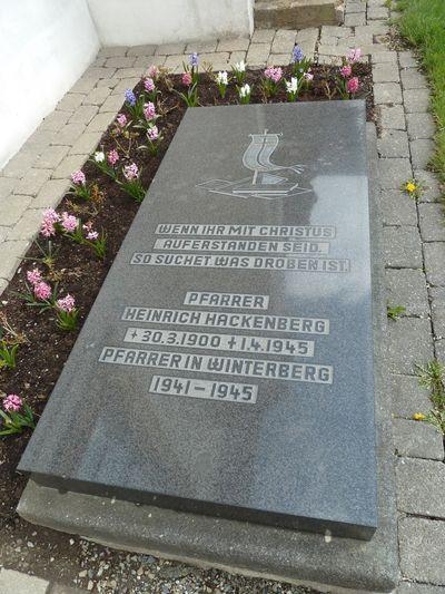Graf Burgerslachtoffer Winterberg