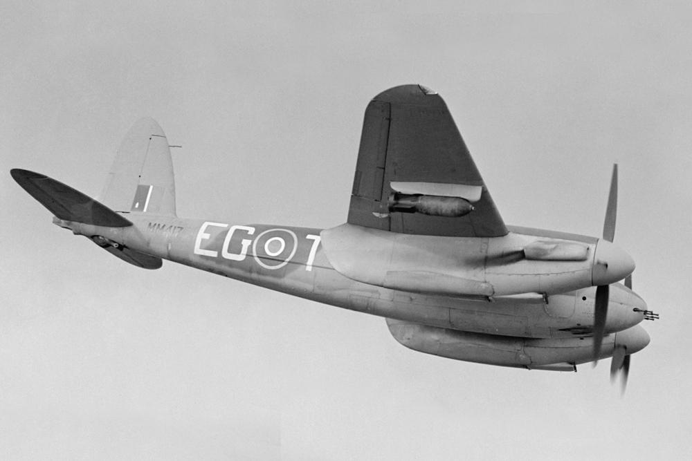 Crashlocatie De Havilland Mosquito FB Mk.IX