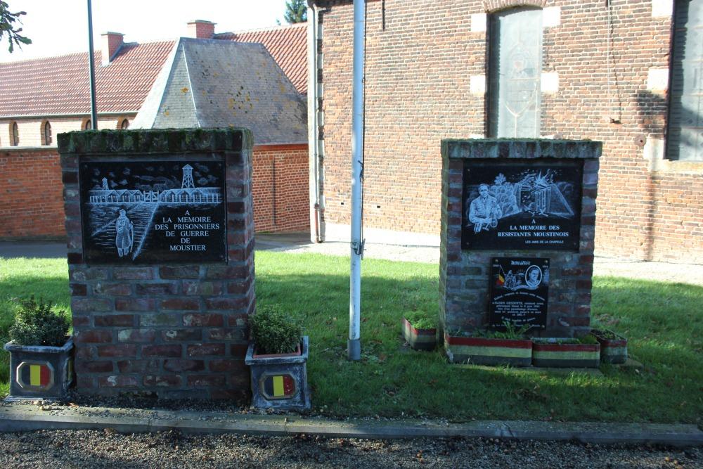 Monument Politieke Gevangenen Moustier