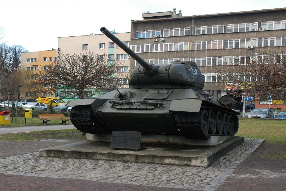 Bevrijdingsmonument (T-34/85 Tank) Gliwice