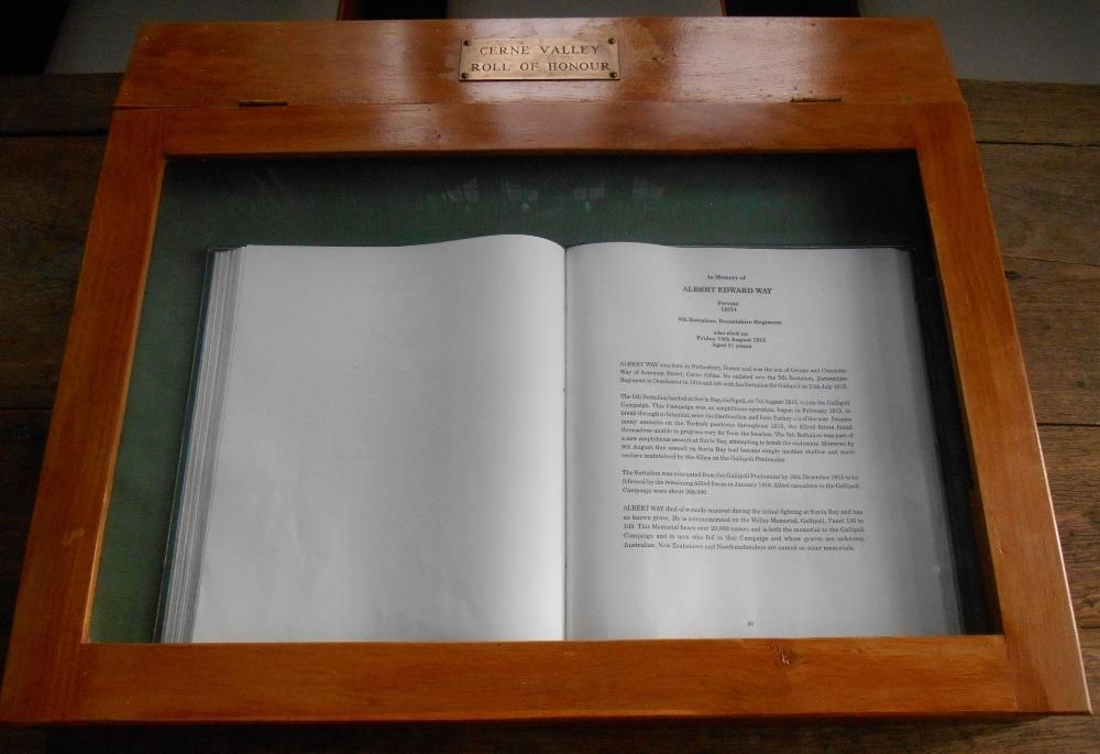 Herdenkingsboek Church of St Mary