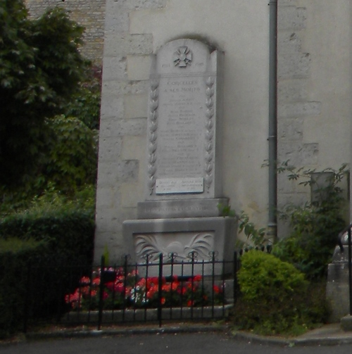 War Memorial Corcelles-les-Monts