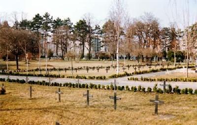 Duitse Oorlogsgraven Györ
