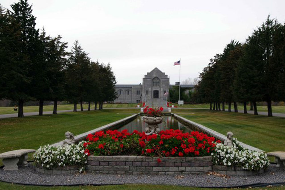 Amerikaanse Oorlogsgraven Sunset Memorial Park Cemetery