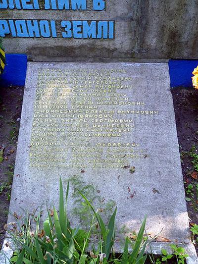 War Memorial Buzhanka