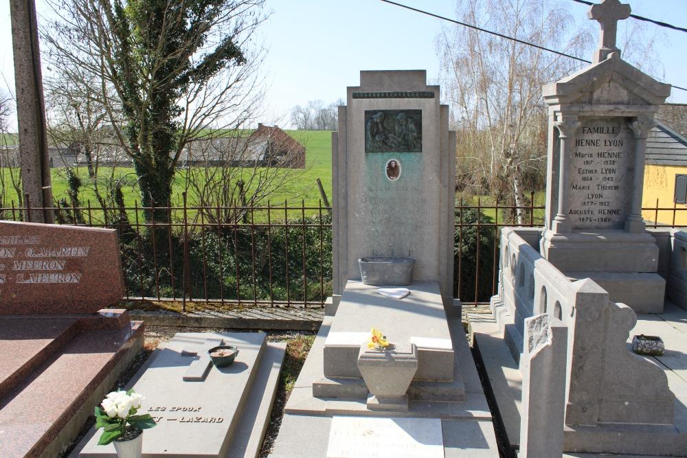 Belgisch Oorlogsgraf Lathuy
