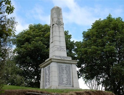 Oorlogsmonument Cowdenbeath