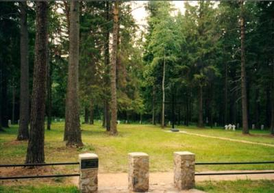 German War Cemetery Walk / Valga