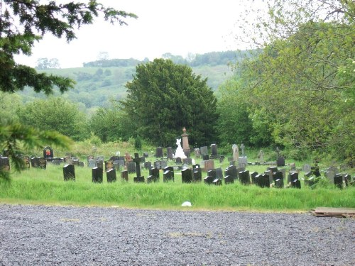 Commonwealth War Grave St. Gwendoline Church Cemetery