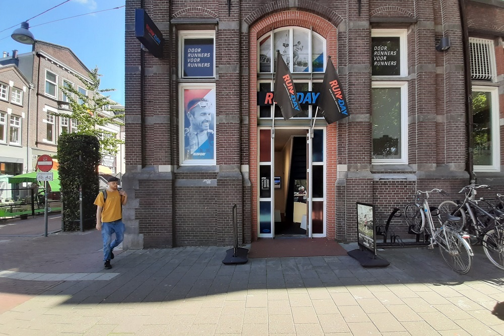 Plaquette voormalig Postkantoor