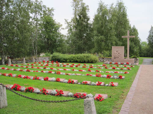 Finse Oorlogsgraven Lohtaja