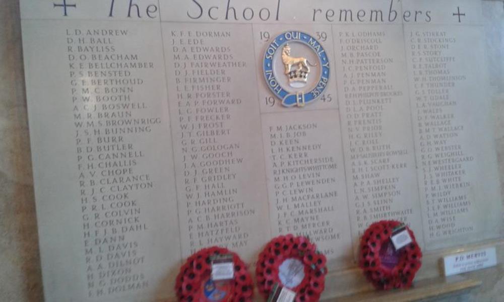 War Memorial Kings College School