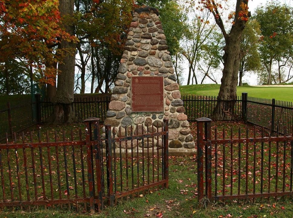Monument Slag van Fort George