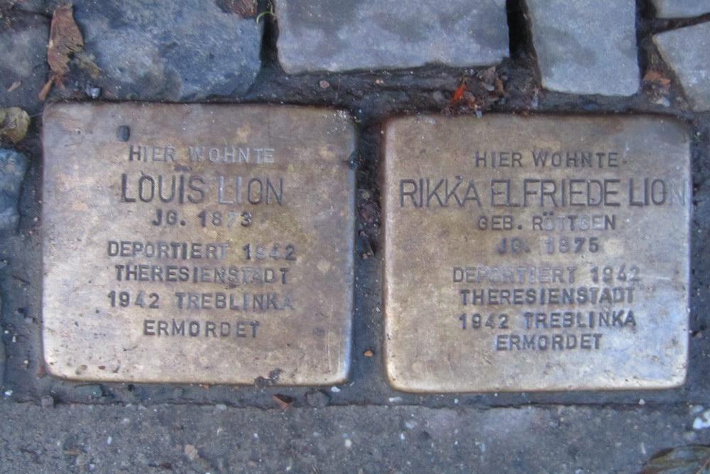 Stumbling Stones Kurfürstenstraße 23