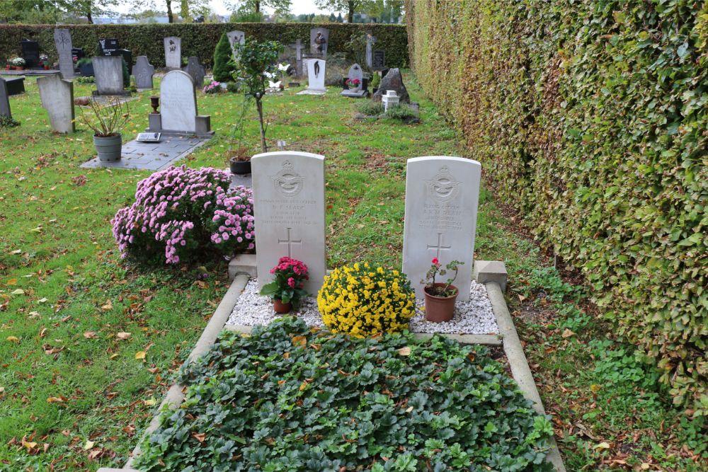 Commonwealth War Graves Municipal Cemetery Engelen