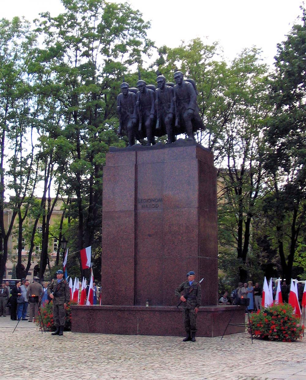 Memorial of the Four Polish Legionaries Kiecle