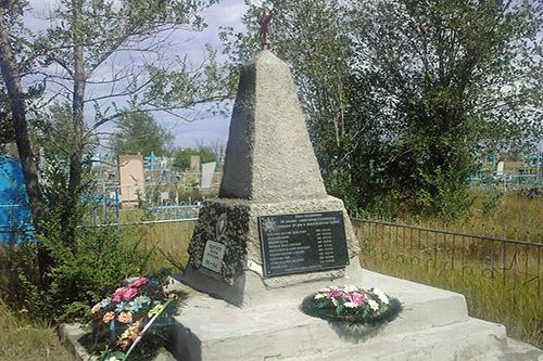 Mass Grave Soviet Soldiers Charkovka