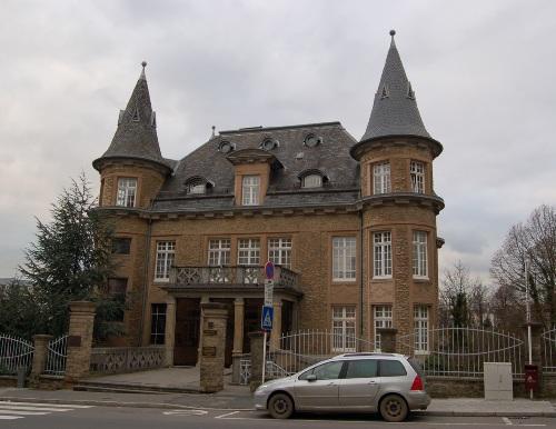 Gestapo-Headquarters Pauly Mansion