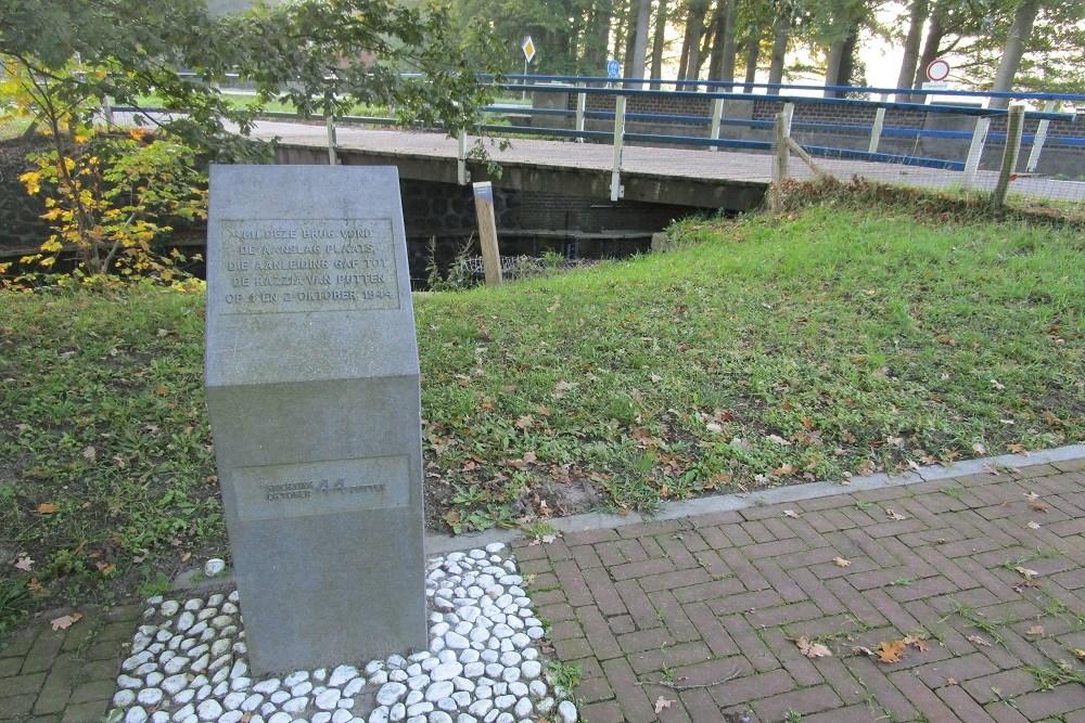 Monument Poorterbrug Putten