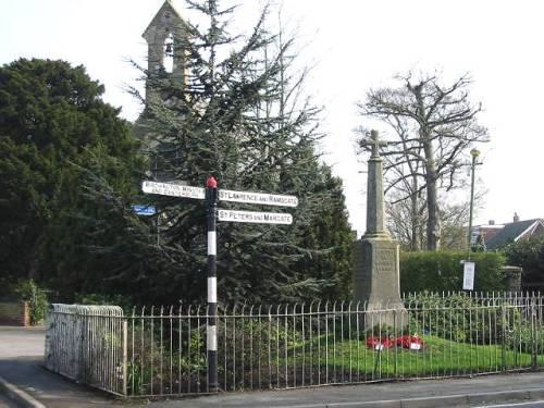 War Memorial Manston