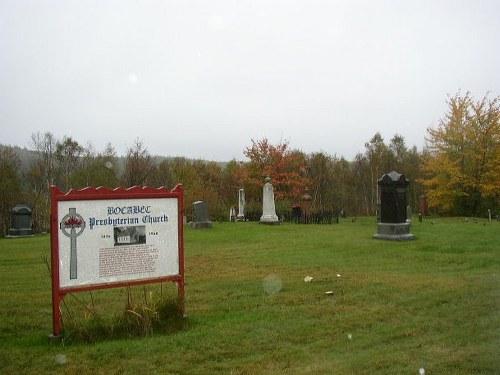 Commonwealth War Graves Bocabec Cemetery