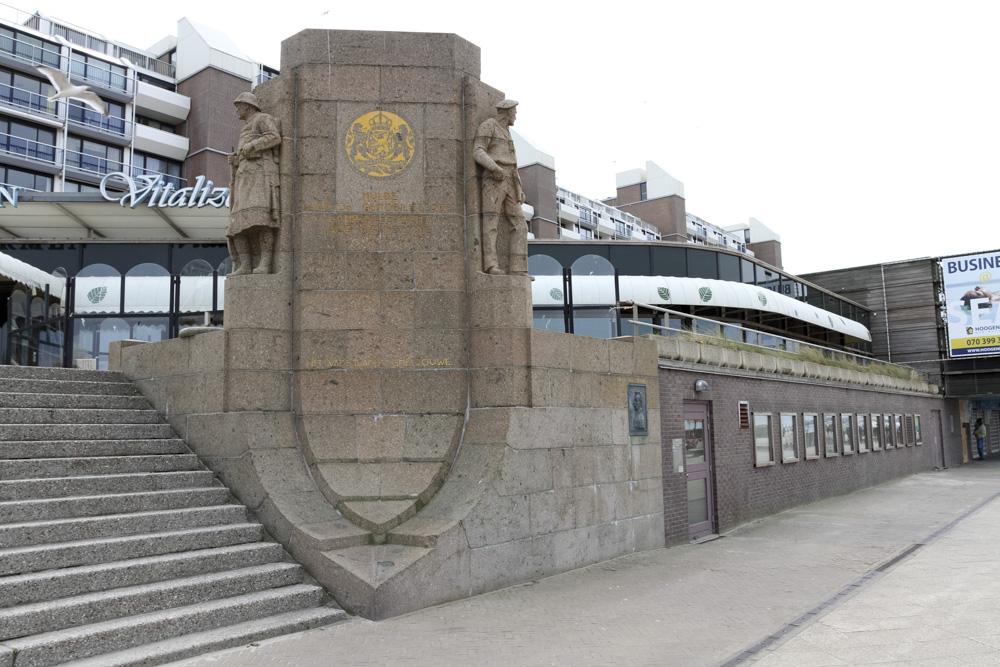 Monument Gemobiliseerde Land en Zeemacht Scheveningen