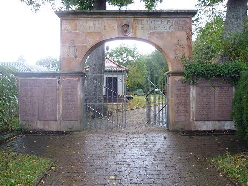 War Memorial Altstadt