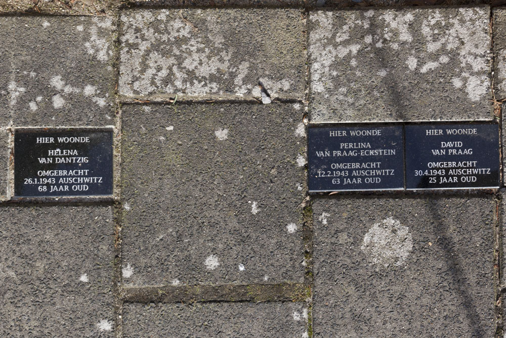 Memorial Stones Bas Backerlaan 12