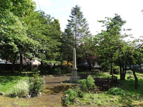 War Memorial Peak Dale