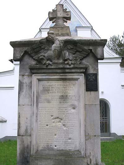 War Memorial 1920 Ossow