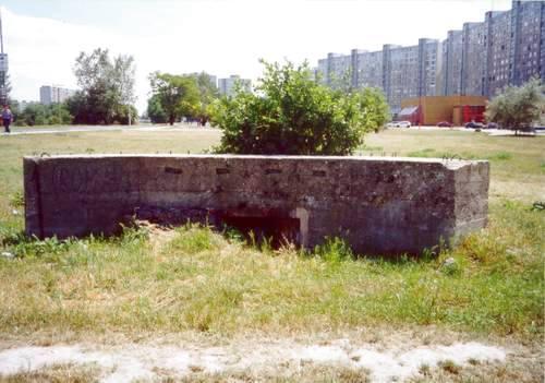 Benešova Line - Firing Wall