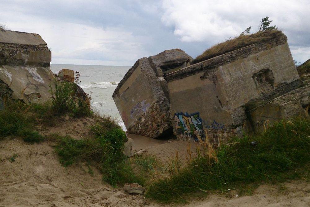 Remains Russian Coastal Battery No. 1