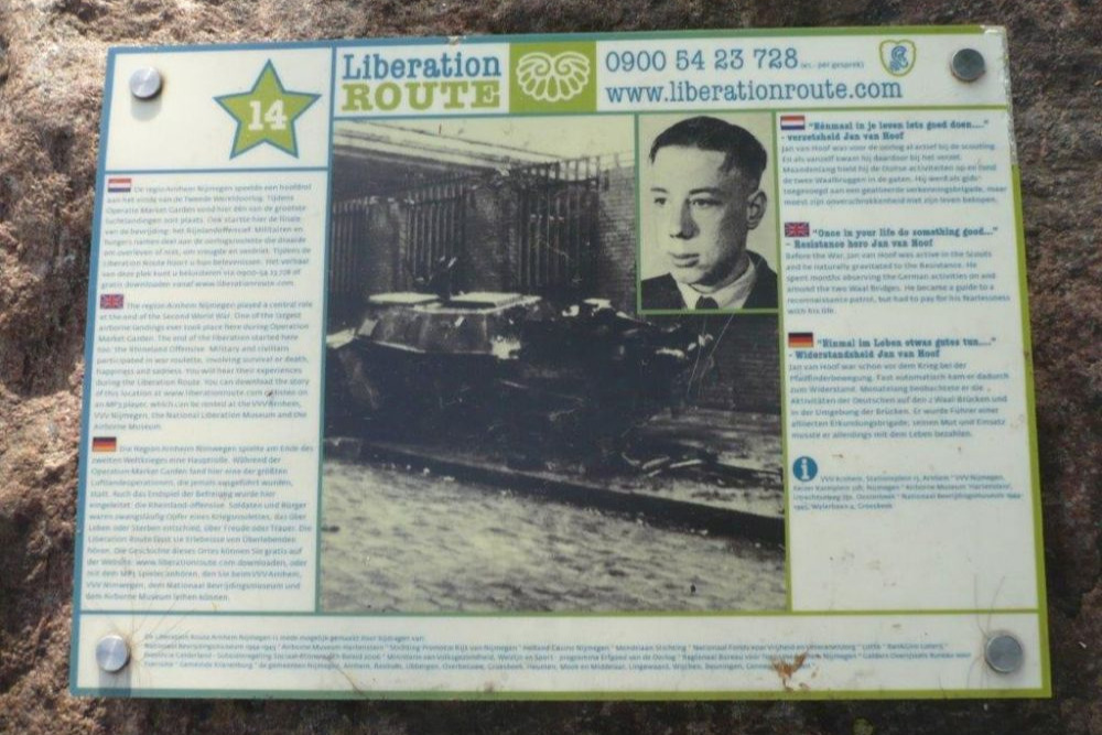Liberation Route Marker 14