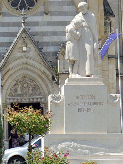 Oorlogsmonument Aiguillon