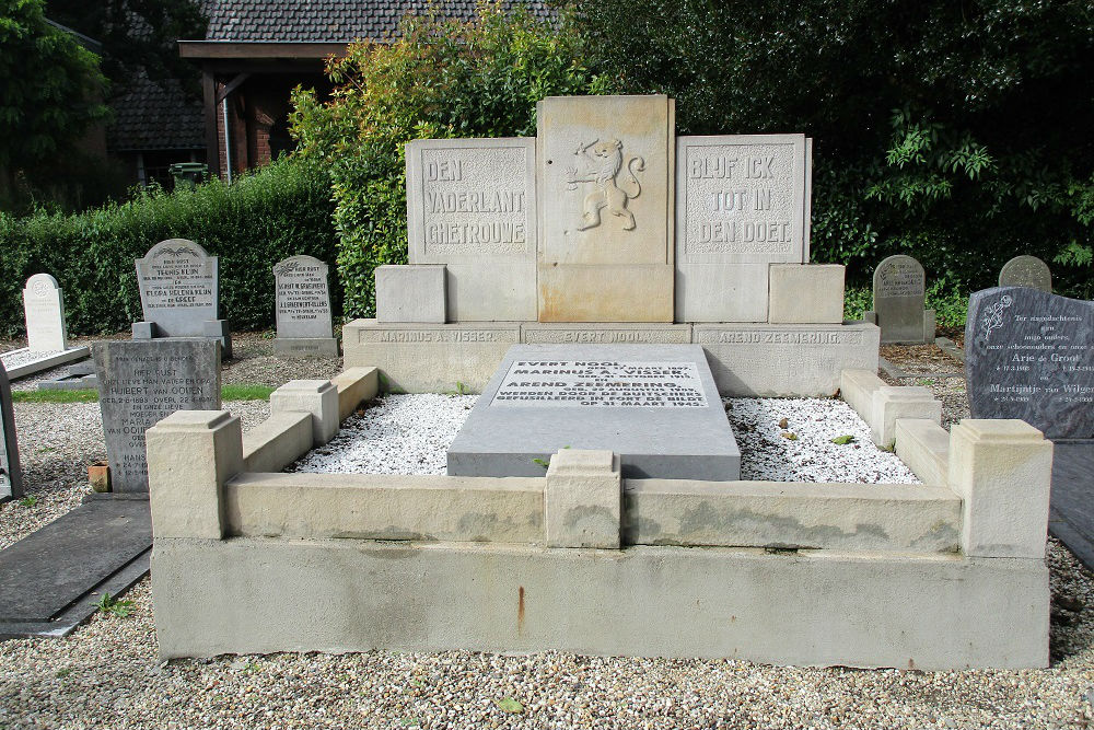 Nederlandse Oorlogsgraven Heukelum