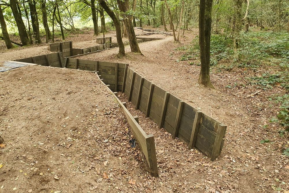 Grebbe Line - Restored Trench