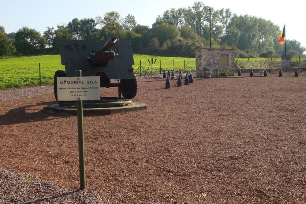 Memorial 20A Artillery Regiment Chasseurs Ardennais