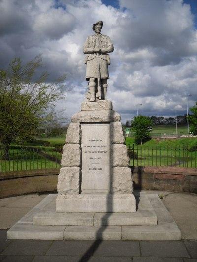 War Memorial Holytown