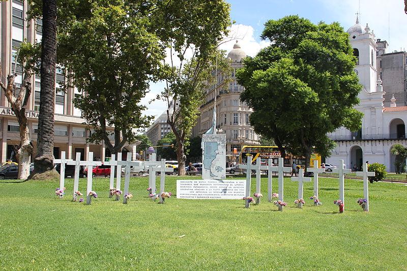 Monument Omgekomen Argentijnse Militairen
