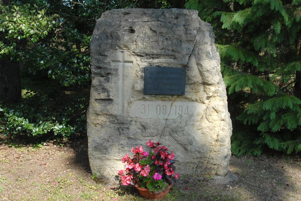 Memorial Stone Streikopfer 1942