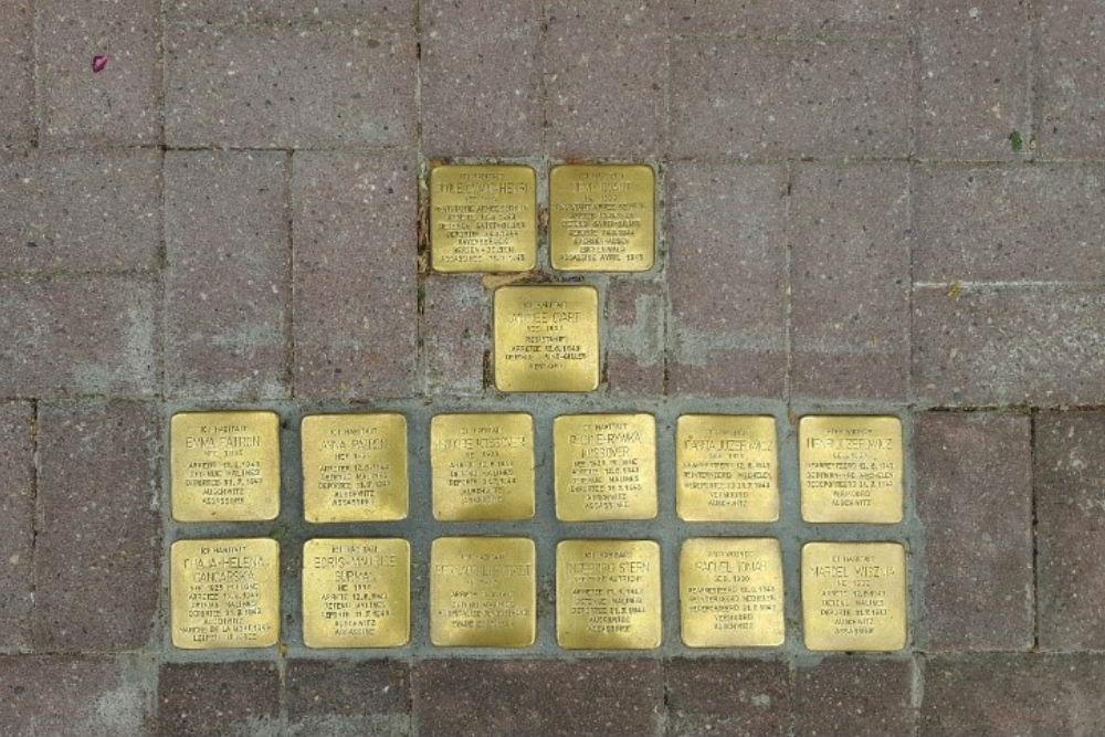 Stumbling Stones Rue Andre Fauchille 10